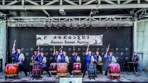 Taiko Drumming by Wadaiko Rindo