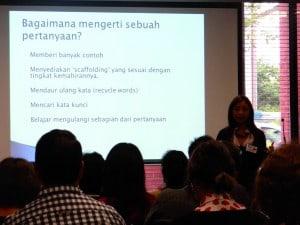 Salah satu materi dalam Konferensi VILTA 2014
