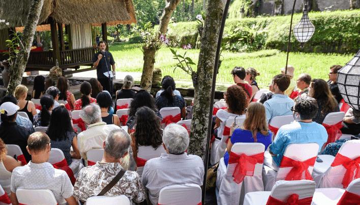"""Ribuan Penggemar Kuliner Indonesia  Menghadiri """"Ubud Food Festival"""" di Ubud – Bali"""