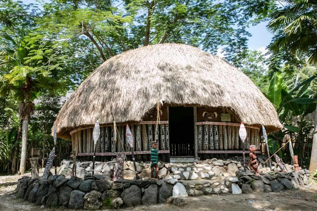 3) Honai - Rumah Papua
