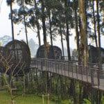 Bandung Dusun Bambu_Lutung Kasarung, resto di atas pohon