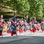 Komunitas Jepang di parade