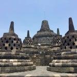 Borobudur - The Stupas