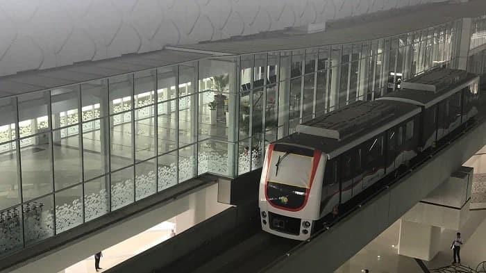 Fasilitas Skytrain Pertama di Bandara Soekarno Hatta