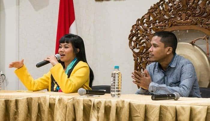 Yura Yunita & Mamat Berbagi untuk Papua