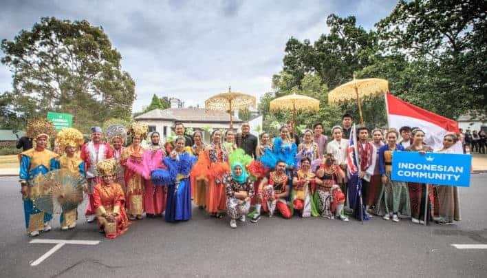 Bersama dan Bergembira di Moomba Festival 2018