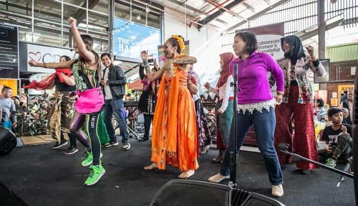 Semaraknya acara Indonesian Multicultural Festival of Victoria (IMFOV) di Melbourne Australia