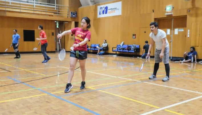 Sehat Bersama Klub Badminton Indomelb