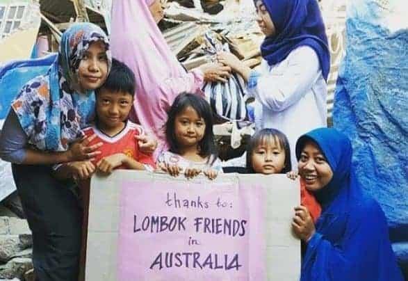 Melbourne Galang Dana untuk Korban Gempa Lombok