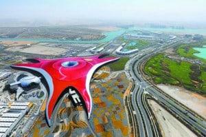 abu dhabi 2_Ferrari_World_Abu_Dhabi_Aerial_View