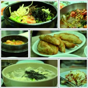 Seoul Lunch 24 September Collage