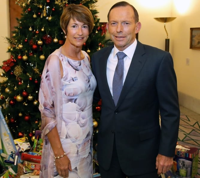 PM & Mrs Abbott-2