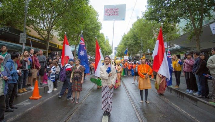 Warga Indonesia Meriahkan Australia Day