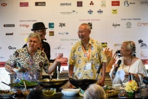 Chef Wan, William Wongso dan Sir owen