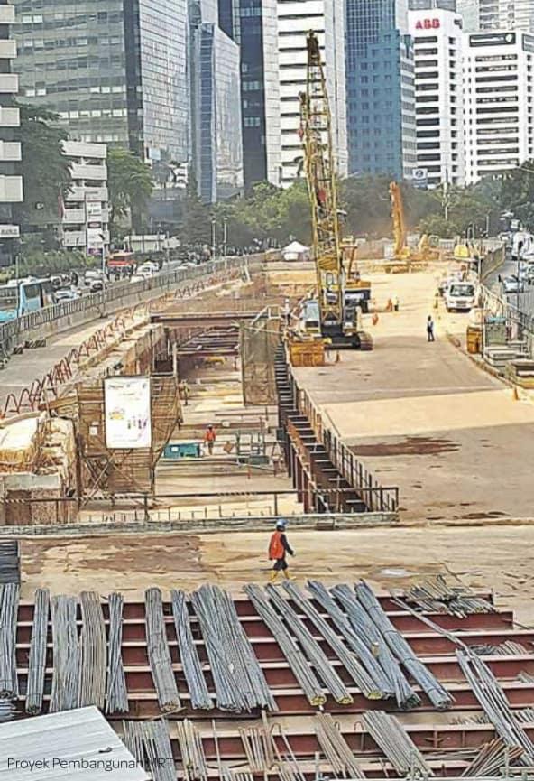 Asril_JakarProyek Pembangunan MRT