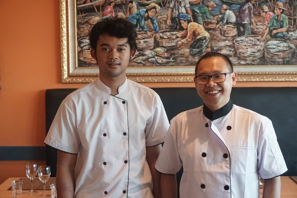 Monggo_The Cook and Head Chef  David Wijaya