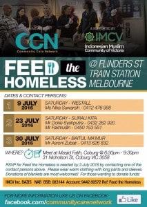 IMCV for Feed the Homeless