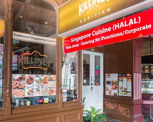 Killiney Kopitiam Lygon : Hadirkan Singapore Street Food di Australia