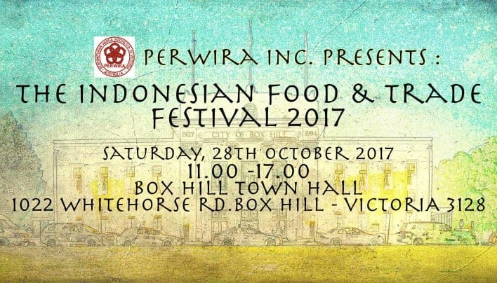 Weekend Event: The Indonesian Food & Trade Festival 2017