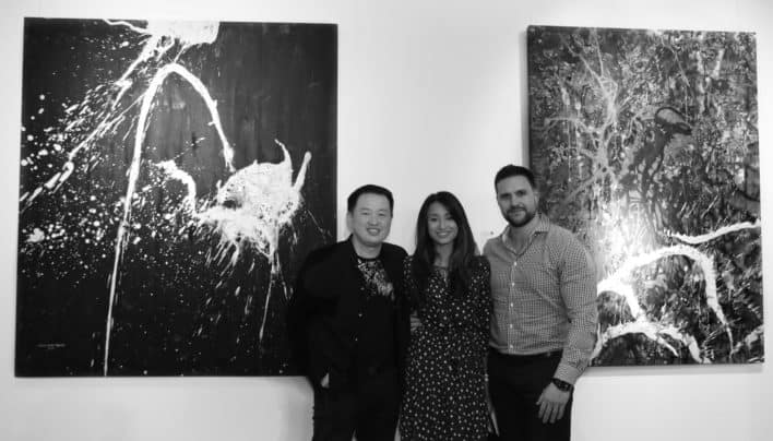 """Energy in Abstract"" Exhibition A Success at  SpACE@Collins"